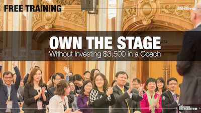Own the Stage Free Training