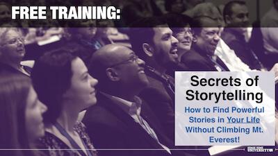 Storytelling TRAINING