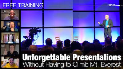 UNFORGETTABLE Presentations Training
